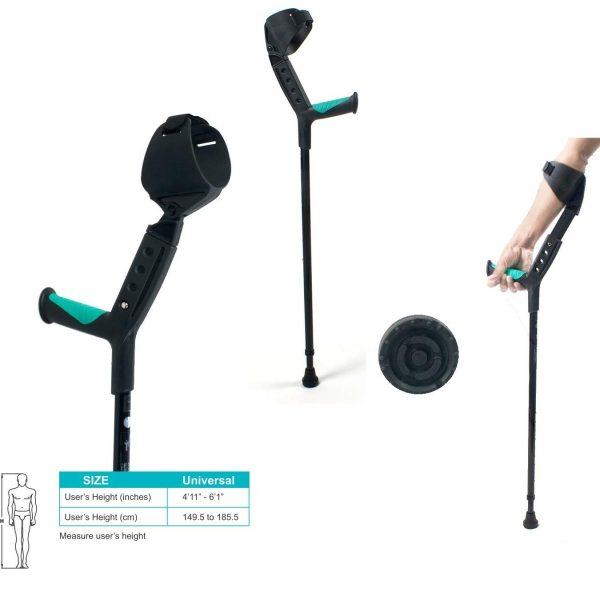 Tynor Elbow Crutch - Universal (Adjustable)