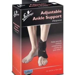 Flamingo Adjustable Ankle Support (Neoprene)(Universal)