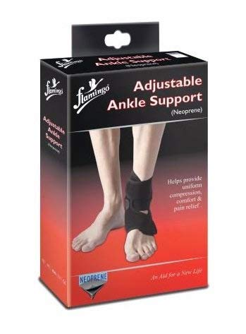 Flamingo Adjustable Ankle Support (Neoprene)(Universal)