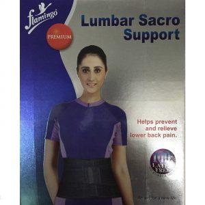 Flamingo Premium Lumbar Sacro Support