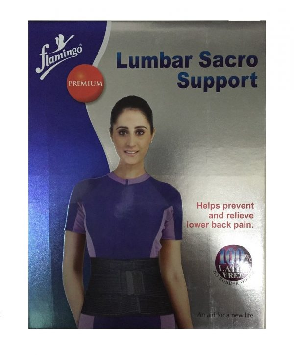 Flamingo Premium Lumbar Sacro Support