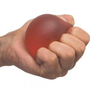 Flamingo Gel Exercise Ball - Universal (Red)